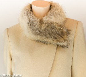 Fur Collar on Cashmere